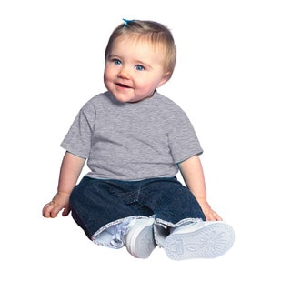 Infant's Heather Jersey 5.5-ounce Short-sleeve T-shirt