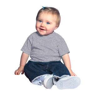 Infant's Heather Jersey 5.5-ounce Short-sleeve T-shirt (4 options available)