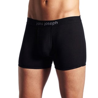 Jake Joseph Adhesion Black No Rise Trunk (Pack of 3)