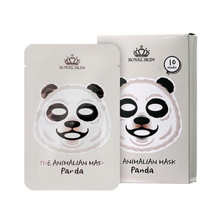 Royal Skin Animalian Panda Facial Mask (Pack of 10)