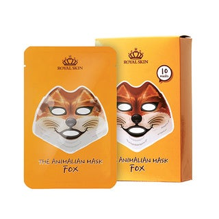 RoyalSkin Fox Animalian 23g Mask (Pack of 10)