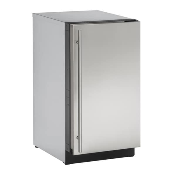 U-Line 3000 Series 3018 18-inch Stainless Steel Clear Ice Maker Without Pump