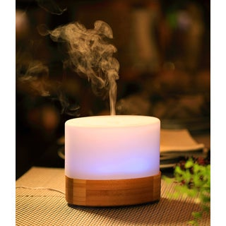 SPT White Plastic/Glass Ultrasonic Aroma Diffuser/Humidifier