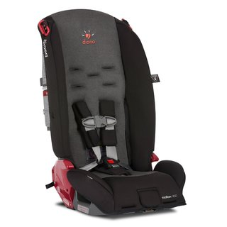 Diono Radian R100 Convertible Car Seat, Black Mist
