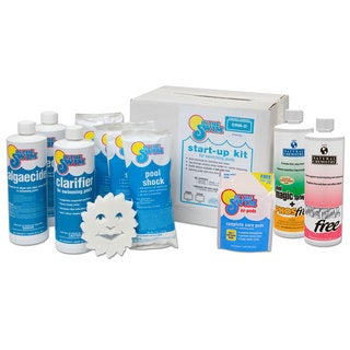 In The Swim Ultimate Pool Opening up to 35,000-gallon Chemical Start Up Kit