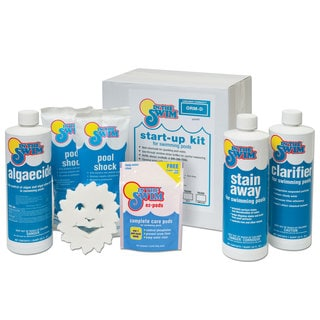 In The Swim Deluxe Pool Opening Up-to-15,000-gallon Chemical Start Up Kit