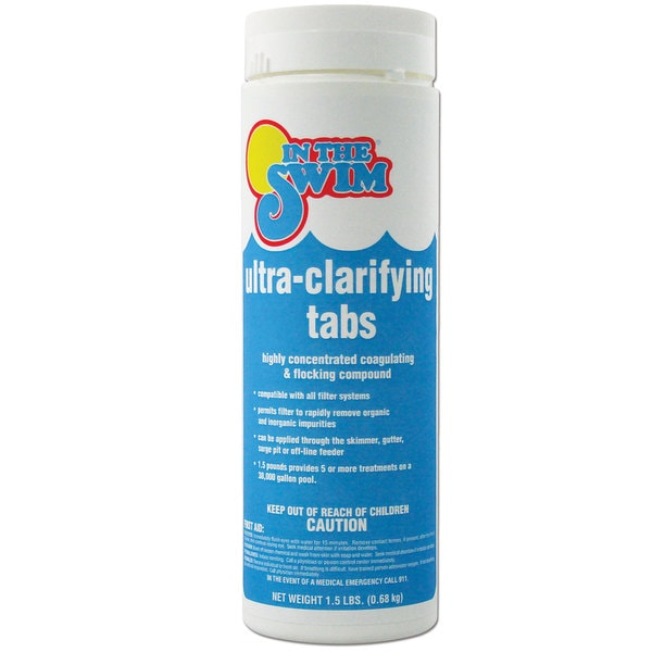 In The Swim 1.5-pound Ultra-clarifying Tablets Pool Water Clarifier