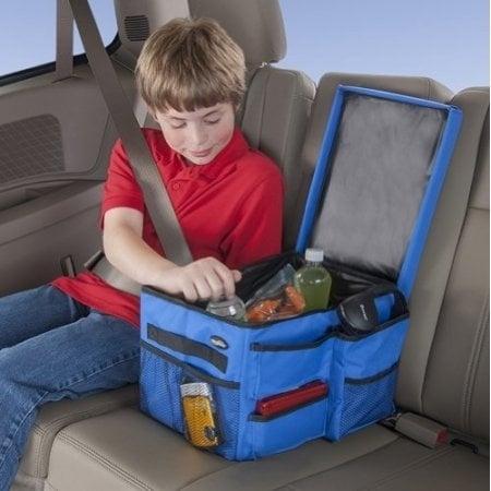 Shop High Road Kids Car Back Seat Organizer Heavy Duty Polyester