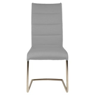 Modern Life Nardo Ash Grey Dining Chair (Set of 2)