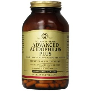 Solgar 125-milligram Advanced Acidophilus Plus (240 Capsules)