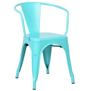 Edgemod Trattoria Matte Finish Dining Arm Chair