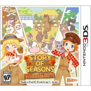 Story of Seasons: Trio of Towns - 3DS