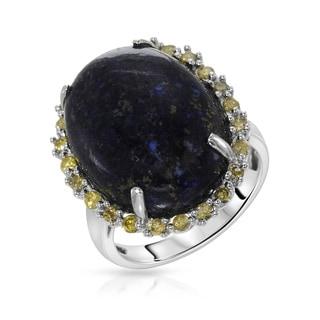 Fay Pay Jewels 14k Gold 18.98 CTW Lapis Lazuli Ring
