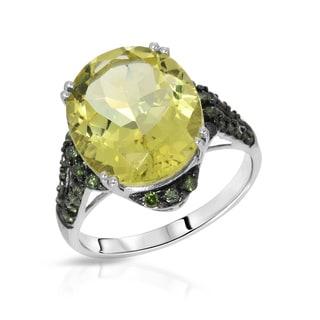 Fay Pay Jewels 14k Gold 7.43 CTW Quartz Ring