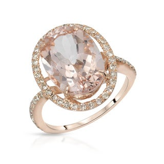 Fay Pay Jewels 14k Gold 5.87-carat TW Morganite Ring