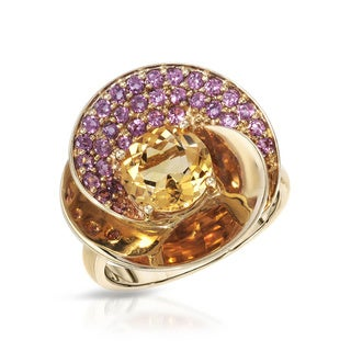 Fay Pay Jewels 14k Yellow Gold 2.45-carat Citrine Ring