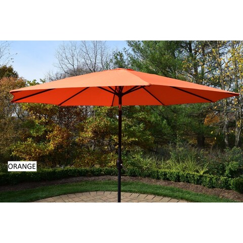 Metal Framed 9-foot Umbrella with Crank and Tilt system