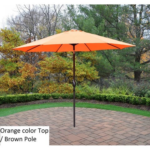Oakland Living Corporation Polyester 9-foot Market Umbrella