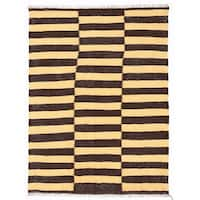 Herat Oriental Afghan Hand-woven Wool Mimana Kilim (3' x 4') - 3' x 4'