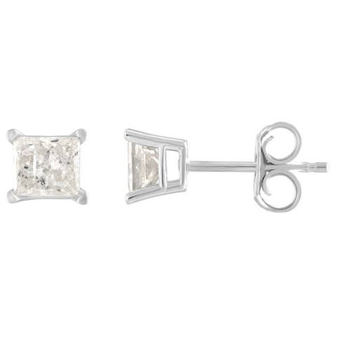 07cc7e61c Buy 10k Diamond Earrings Online at Overstock | Our Best Earrings Deals