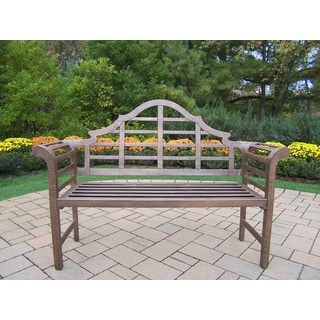 Metal Outdoor Benches   Shop The Best Deals For Aug 2017   Overstock.com