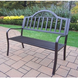 outdoor wrought iron furniture. Hometown Wrought Iron Bench Outdoor Furniture