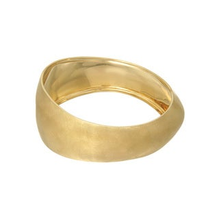 Adami & Martucci Gold-plated Silver Bangle Bracelet