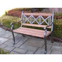 Oakland Living Corporation Triple Cross Bench