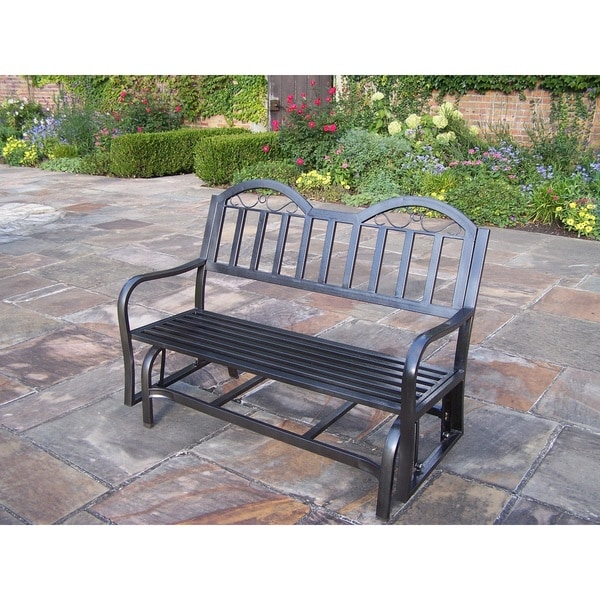 Outdoor Patio Furniture Rochester Ny: Shop Hometown Glider