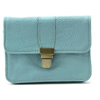 Latico Women's Burke Blue Leather Handbag