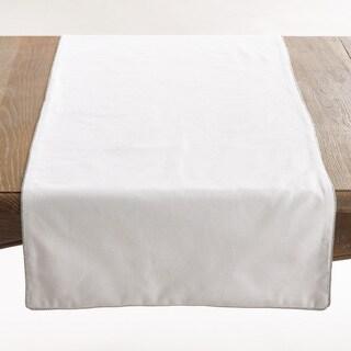 Luana Collection Shimmering Border Design Table Runner