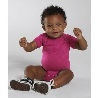 Rabbit Skins Infant's Vintage Hot Pink Fine Jersey Bodysuit