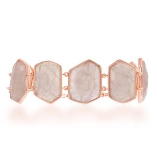 La Preciosa Sterling Silver Gemstone Large Bracelet