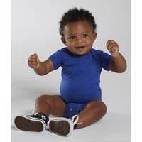 Rabbit Skins Royal Blue Cotton/Polyester Vintage Fine Jersey Infant Bodysuit