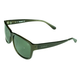 Timberland Men's Somerville Brown/Green Acetate/Plastic Sunglasses