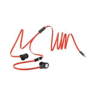 Flat-30 Tangle-free Flat Wire 3.5-millimeter Red Earphones with Microphone|https://ak1.ostkcdn.com/images/products/12140131/P18996028.jpg?impolicy=medium
