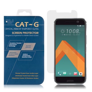 Htc 10 0.33-millimeter Arcing Tempered Glass Clear Screen Protector