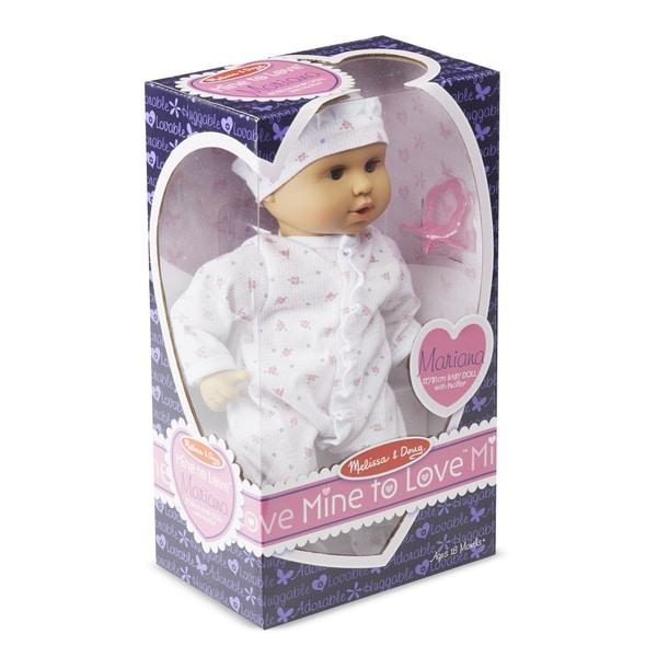 """Melissa & Doug Mine to Love Mariana 12"""" Doll"""