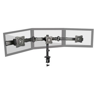 Fuji Labs Triple-monitor Deskmount Stand for 13- to 27inch Monitor