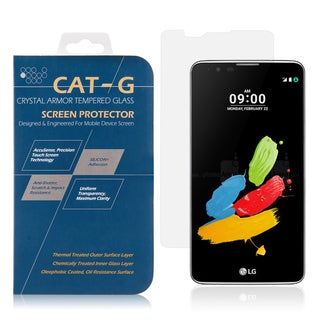 LG Stylus 2/Stylo 2 0.33-millimeter Arcing Tempered Glass Clear Screen Protector