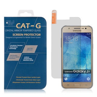 Samsung Galaxy J7 0.33-millimeter Arcing Tempered Glass Clear Screen Protector