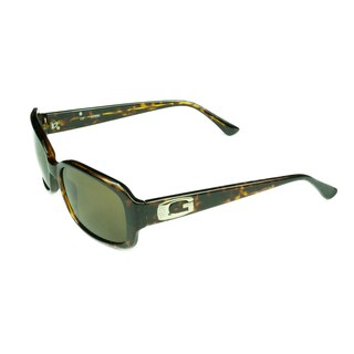 Guess Women's Tortoise Plastic Fashion Sunglasses