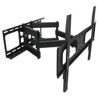 Link to MegaMounts Full-motion Double-arm Articulating Wall Mount for 32 to 70-inch Displays - Black Similar Items in TV Mounts & Stands