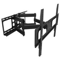 MegaMounts Full-motion Double-arm Articulating Wall Mount for 32 to 70-inch Displays