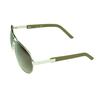 Guess Collection Unisex Aviator Sunglasses with Gradient Lenses
