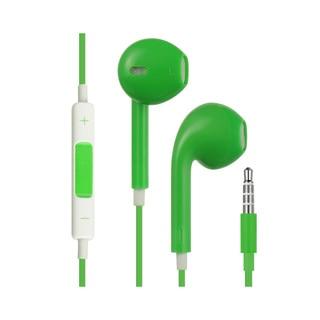 Black 3.5-millimeter Stereo Hands-Free Mic and Headphones