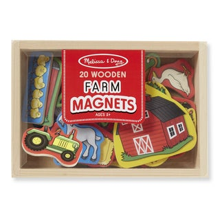 Melissa & Doug Wooden Farm Magnets