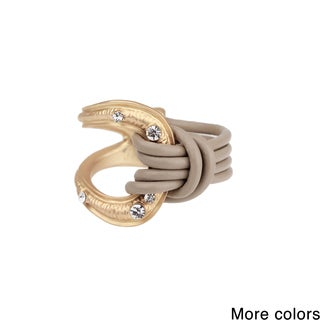 Saachi Leather Knotted Ring (China)