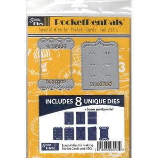 Scor-Pal PocketPenPals Die Bundle 9/Pkg Kits A, B & C, Plus A Bonus Die