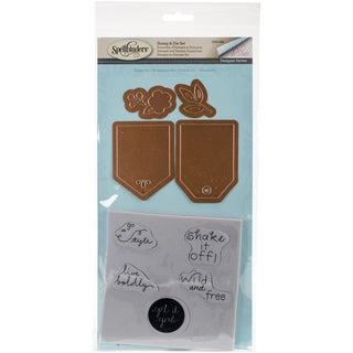 Spellbinders Stamp & Die Set Simply Me